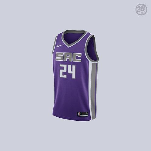 Kings Buddy Hield Nike 2018-19 Icon Edition Swingman Jersey