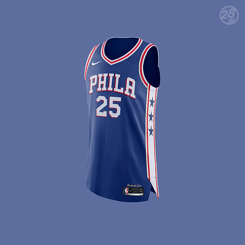76ers Ben Simmons Nike 2019-20 Icon Edition Authentic Jersey