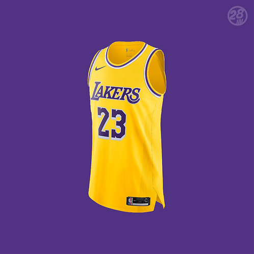 Lakers LeBron James Nike 2019-20 Icon Edition Authentic Jersey
