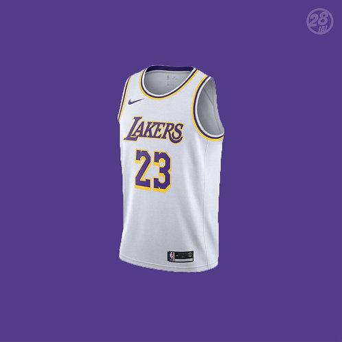 Lakers LeBron James Nike 2019-20 Association Edition  Swingman Jersey