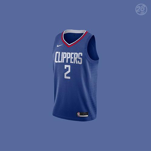 Clippers Kawhi Leonard Nike 2020-21 Icon Edition Swingman Jersey