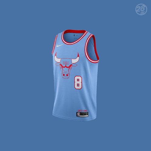 Bulls Zach Lavine Nike 2019-20 City Edition Swingman Jersey