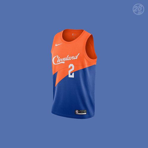 Cavaliers Collin Sexton Nike 2018-19 City Edition Swingman Jersey