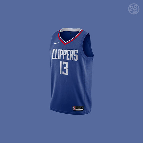 Clippers Paul George Nike 2020-21 Icon Edition Swingman Jersey