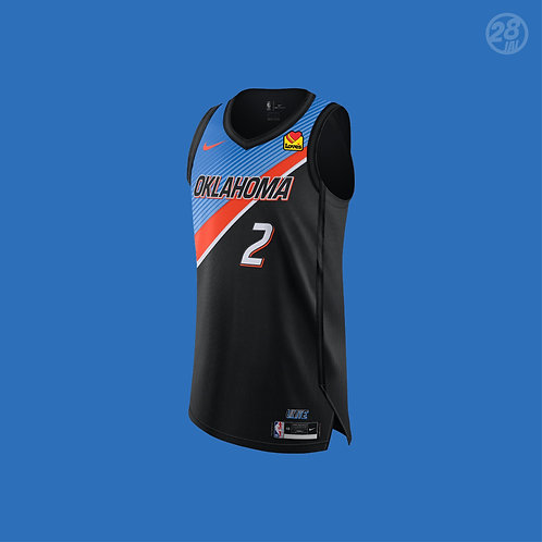 Thunder Shai Gilgeous-Alexander Nike 2020-21 City Edition Authentic Jersey