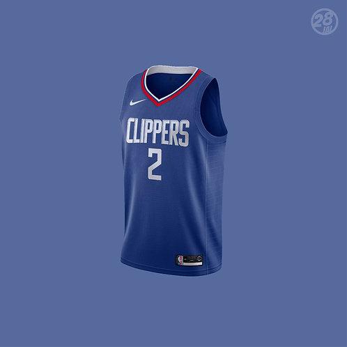 Clippers Kawhi Leonard Nike 2019-20 Icon Edition Swingman Jersey