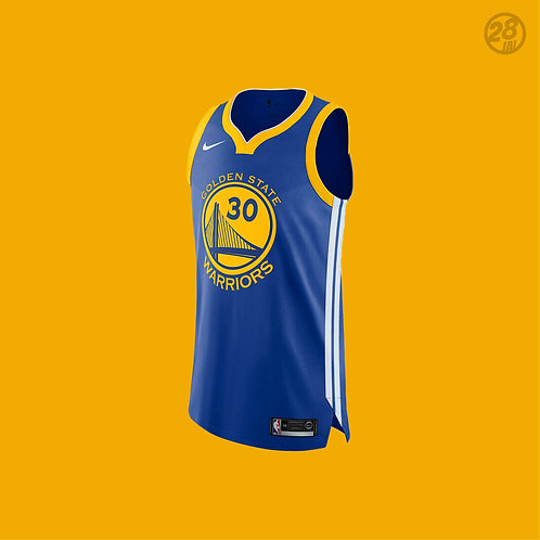 Warriors Stephen Curry Nike 2018-19 Icon Edition Authentic Jersey