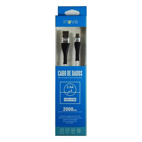 CABO DE DADOS USB/C CBO-8443 2.4A