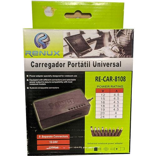 CARREGADOR PARA NOTEBOOK UNIVERSAL 120W