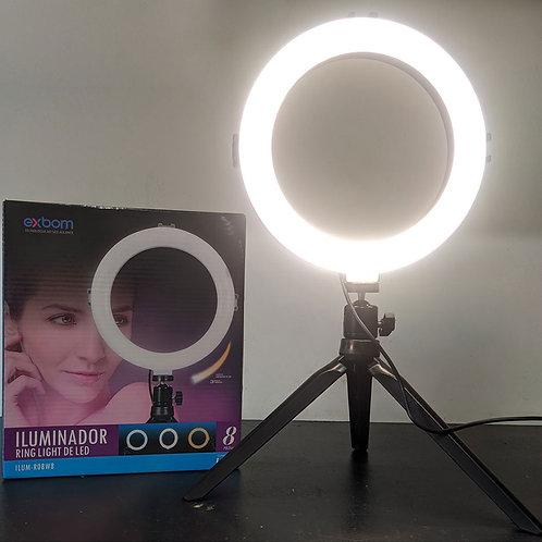 ILUMINADOR RING LIGHT LED 08 POLEGADAS