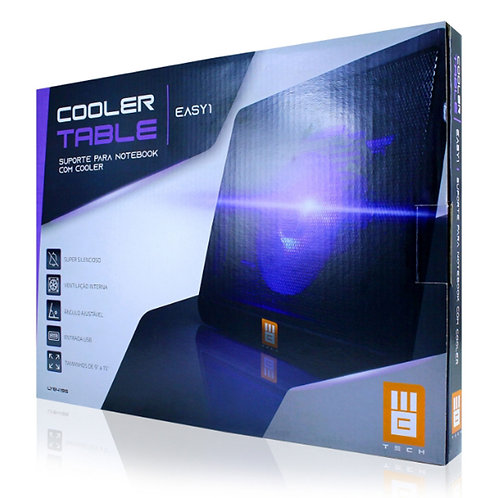 SUPORTE PARA NOTBOOK C/ COOLER USB