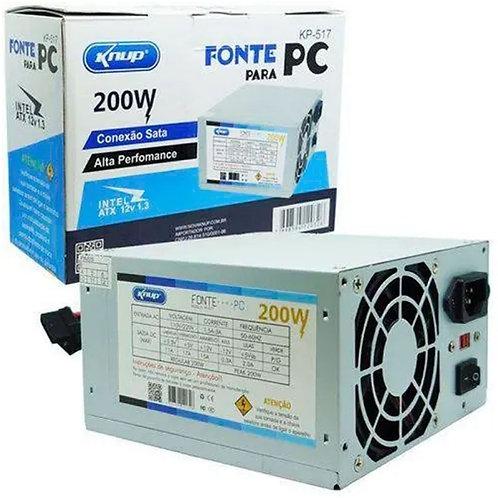 FONTE DE ALIMENTACAO PARA PC ATX