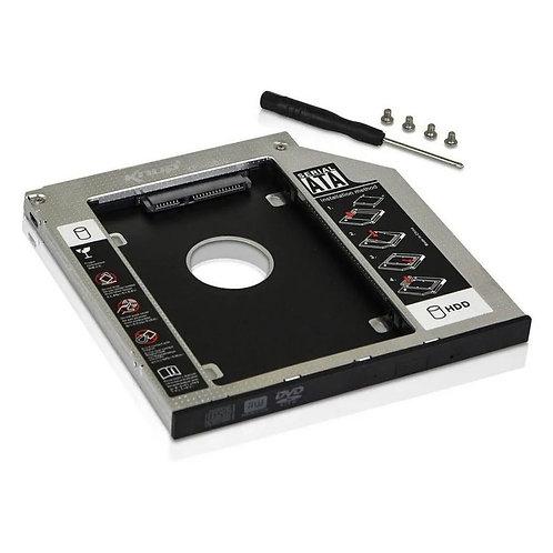 CASE SATA HD CADDY ADAPTADOR KP-HD010 9,5MM