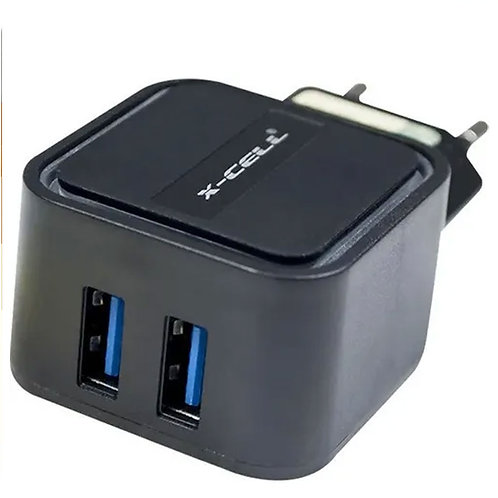 CARREGADOR ULTRA RAPIDO C/ 2 USB 3.4A