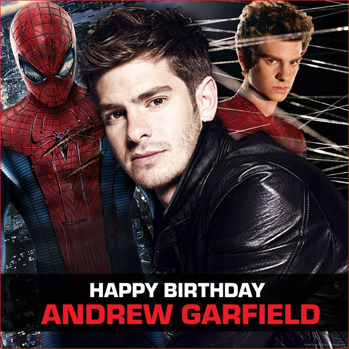Happy Birthday Andrew Garfield Andrew Turns 32