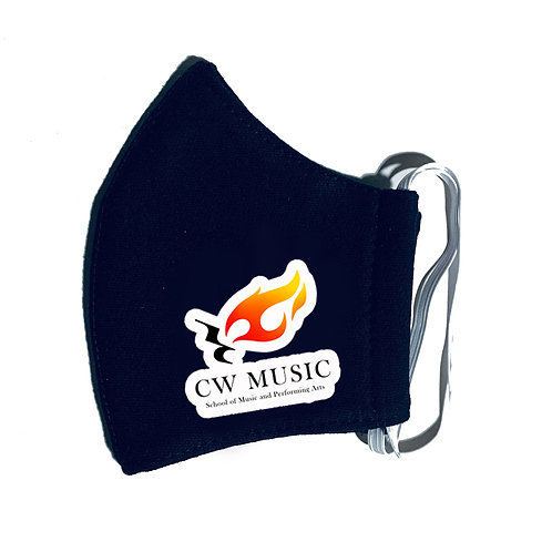 CW MUSIC FACE MASK | FIRE VERSION