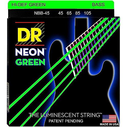 DR Strings - Neon Green - Bass