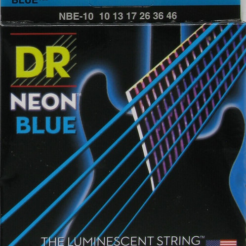 DR Strings - Neon Blue - Electric Guitar