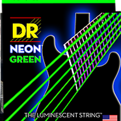 DR Strings - Neon Green - Electric Guitar