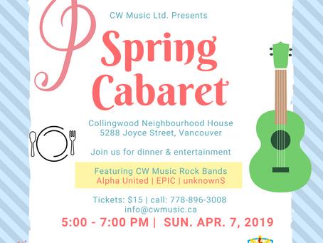 Spring Cabaret