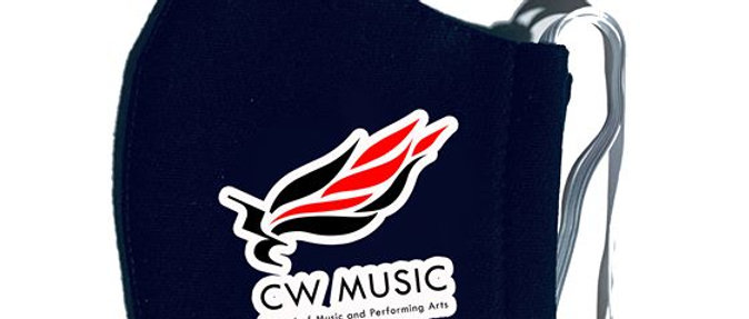 CW MUSIC FACE MASK