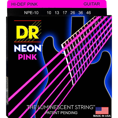 DR Strings - Neon Pink - Electric Guitar