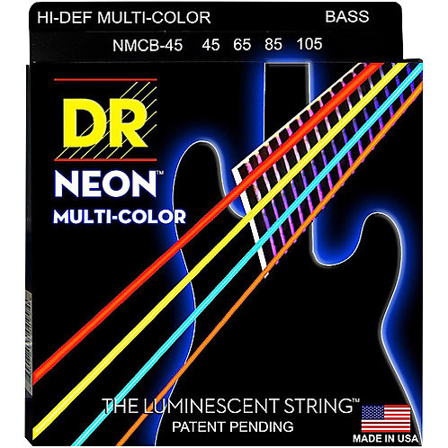 DR Strings - Multi Colour - Electric Guitar