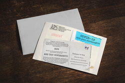 Promotional Post Card Design