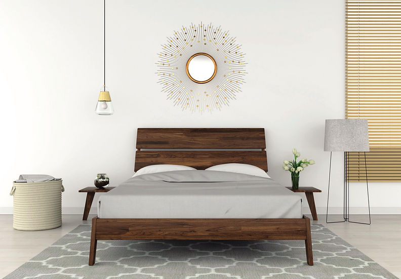 Linn Bed by Copeland Furniture