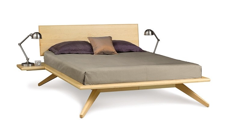 Astrid Bed with 1 Headboard Panel by Copeland Furniture