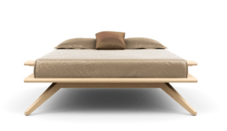 Astrid Bed without Headboard Panels by Copeland Furniture
