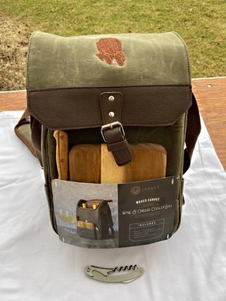 Waxed Wine Bag