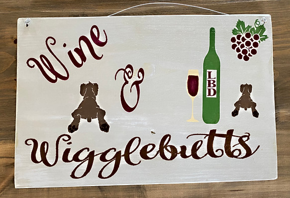 Wooden sign prize