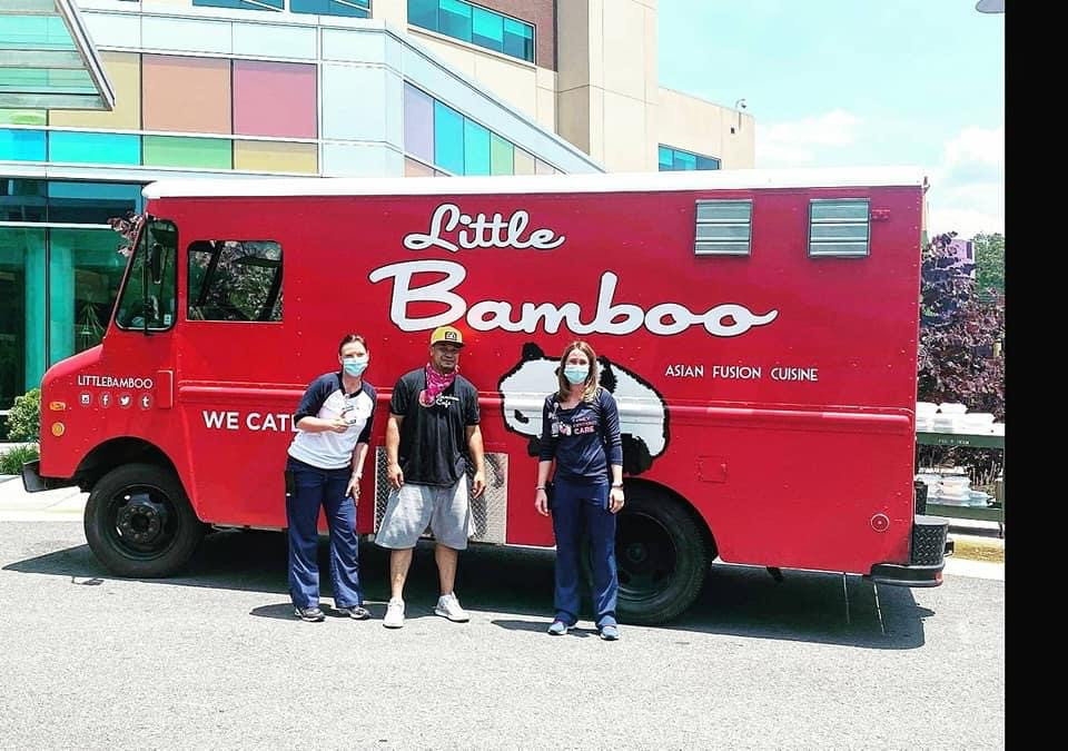 Little Bamboo Food Truck brought some great eats!