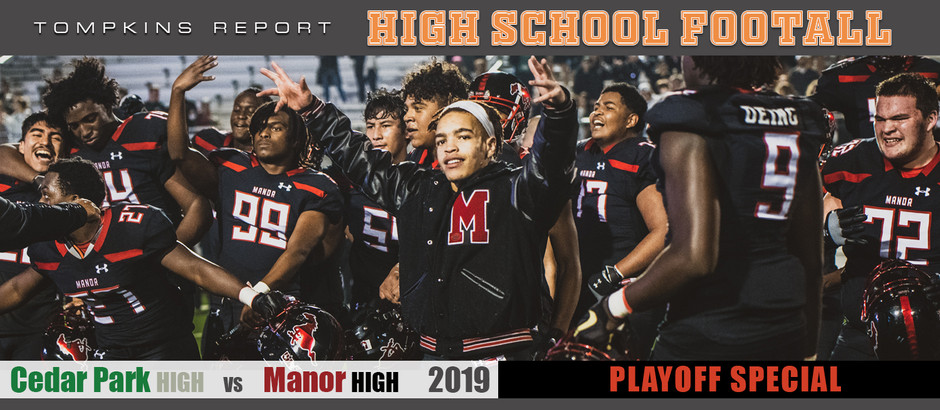 Manor upsets Cedar Park in 17-14 playoff win after walk off field goal