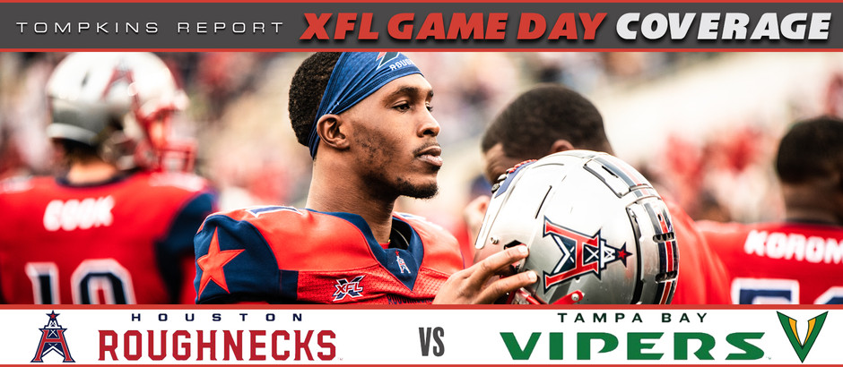 Roughnecks dominate the XFL as the last undefeated team