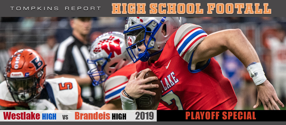 Westlake eliminates Brandeis in 42-14 win as Chaps roll to the Semi-Finals