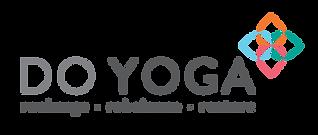 DoYoga HighRes Logo Grey Text Transparen