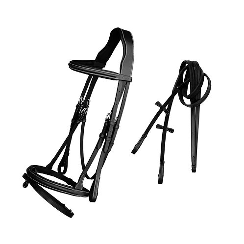 Exion Pro - Thin Padded Snaffle Bridle
