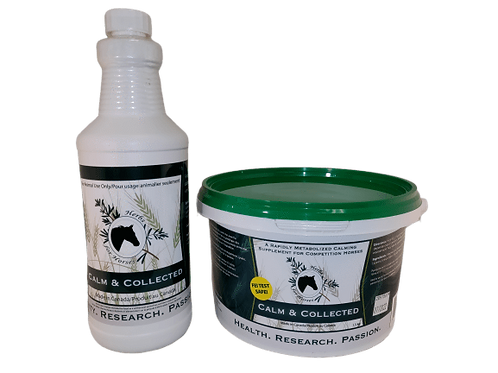 Herbs for Horses - Calm and Collected
