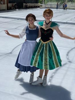 Ice Skating Princesses