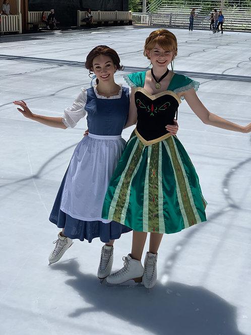 Ice Skating Princess Party