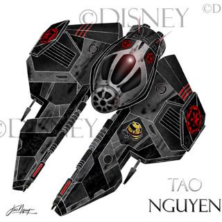 Jedi Star Fighter Artwork