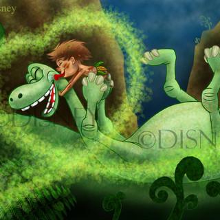 The Good Dinosaur Fan Art
