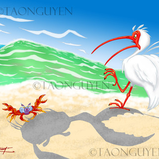 Little Crab Big Shadow Artwork