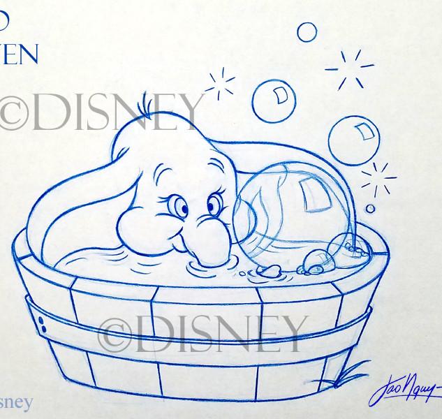 Dumbo's Bubble Bath