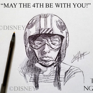 May the 4th with Luke