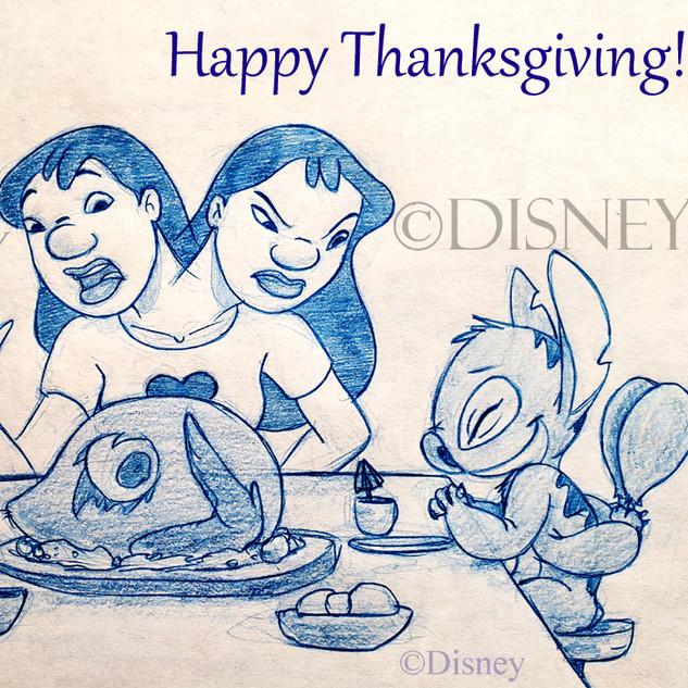 Lilo & Stitch's Thanksgiving