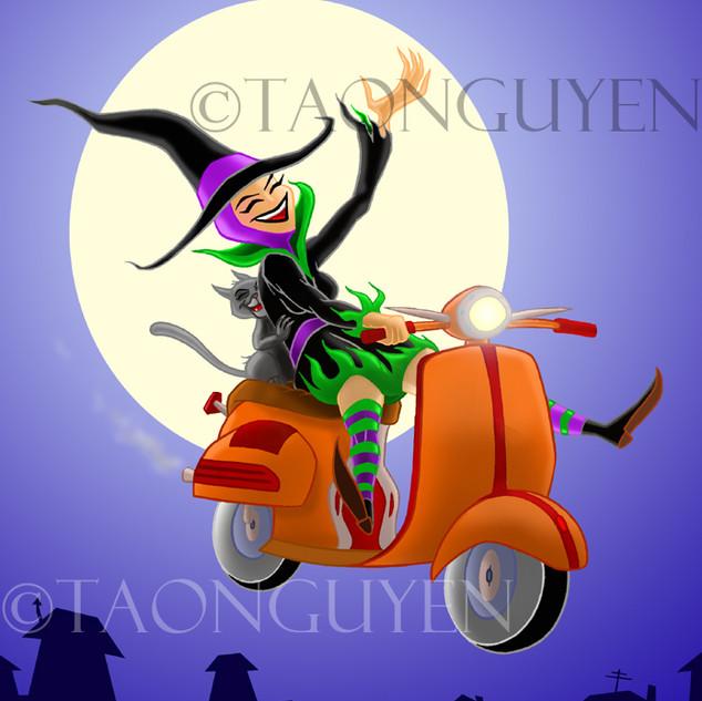 Vespa Witch