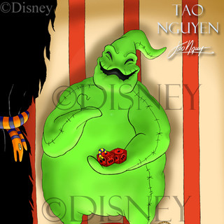 Oogie Boogie- Haunted Mansion